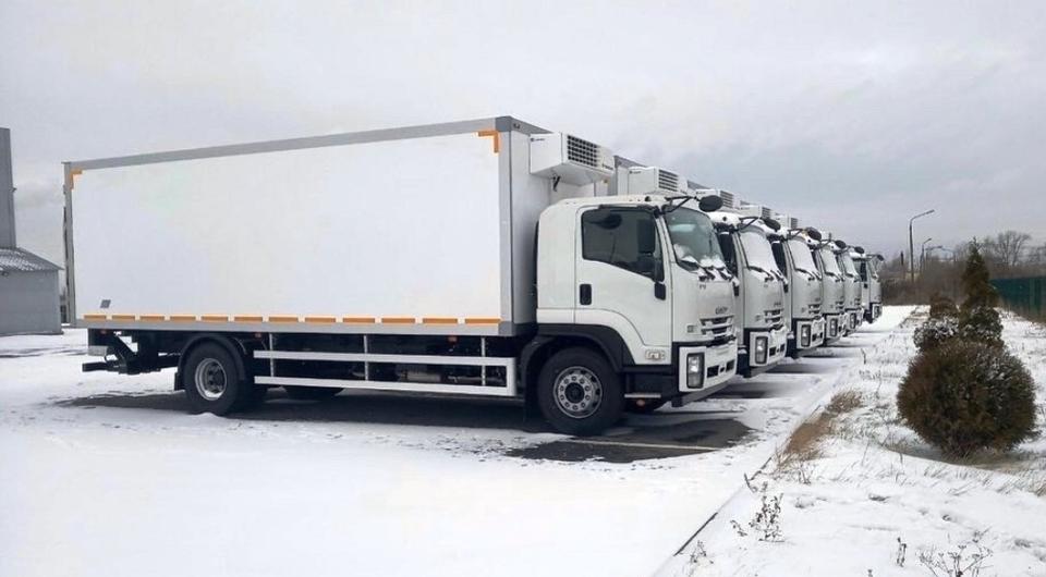На российский рынок вышел 8-тонный ISUZU ELF 8.0