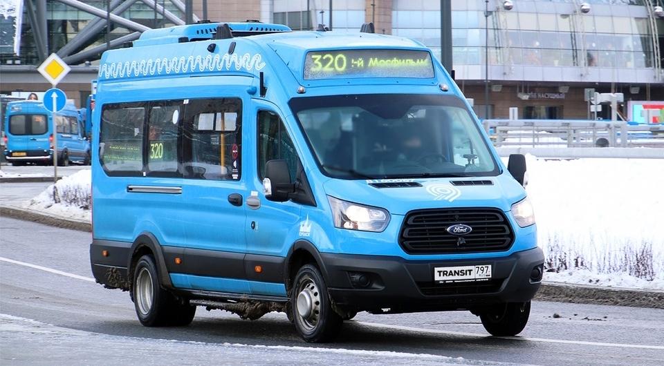 Ford Transit для московского общественного транспорта