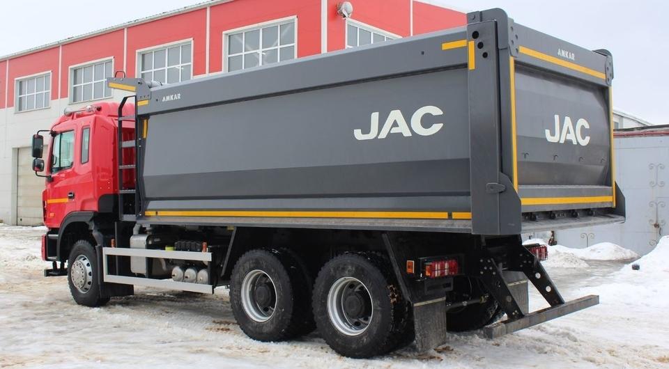 Самосвал JAC N350 получил кузов компании «Автомастер»