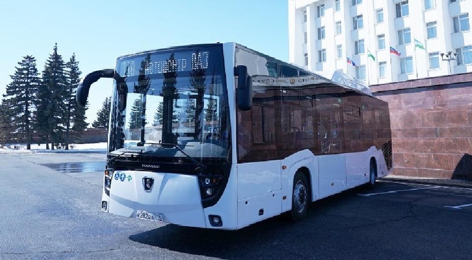 Башавтотранс получил рестайлинговый газовый автобус НЕФАЗ