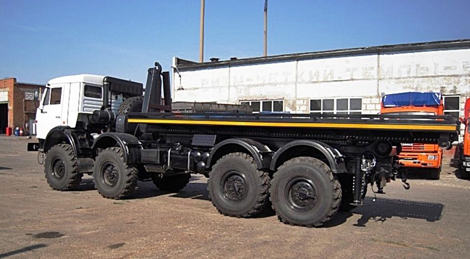 Четырехосный внедорожный КАМАЗ-63501 стал мультилифтом
