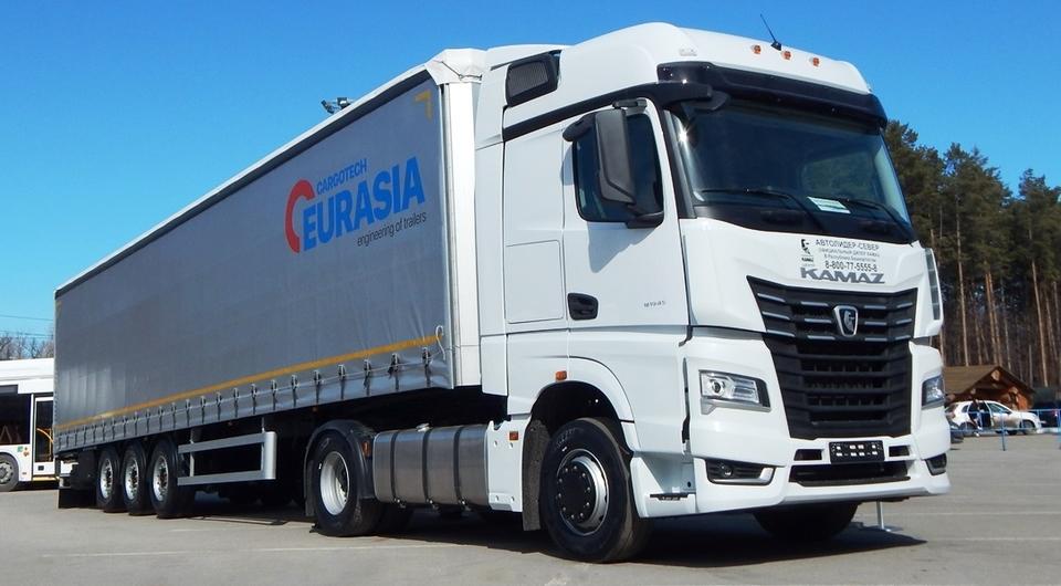Eurasia Cargotech как пара для КАМАЗ-54901