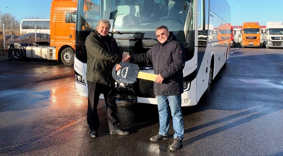 Еще один MAN Lion's Coach отправился в Санкт-Петербург