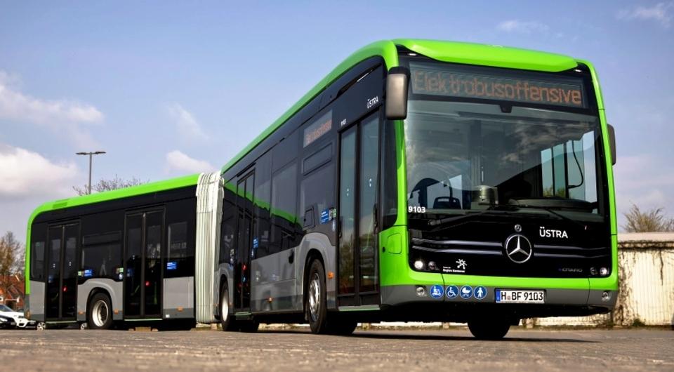 Mercedes-Benz eCitaro будут возить пассажиров в Ганновере