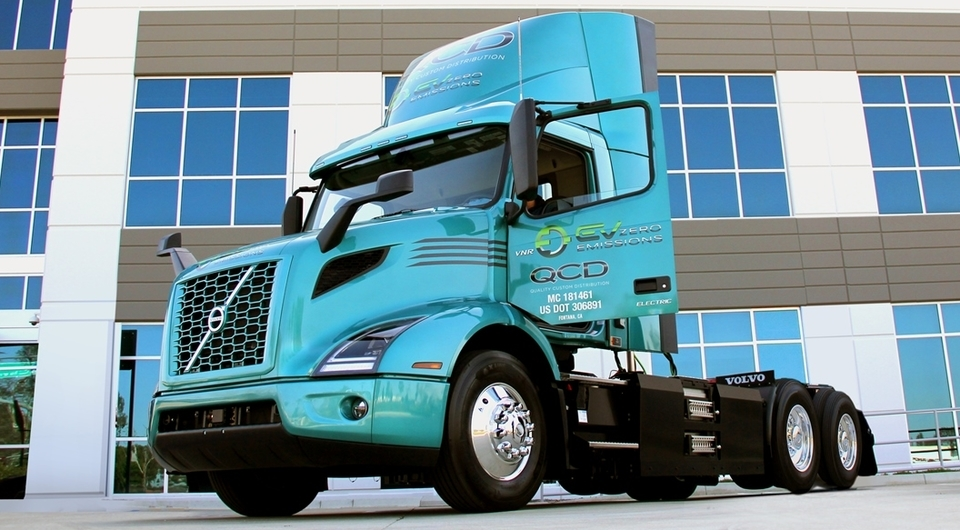 Volvo VNR Electric доставят американцам продукты питания