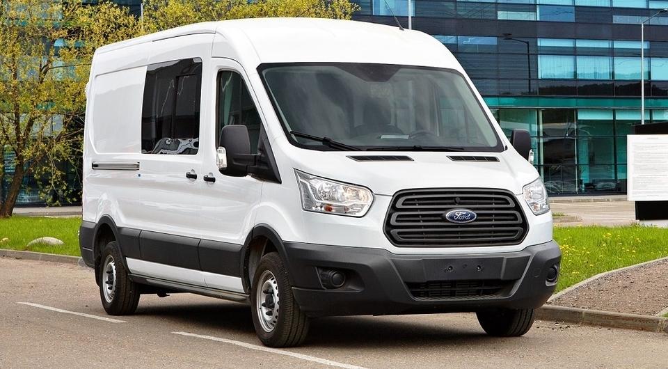 Ford Transit идет на российский рекорд