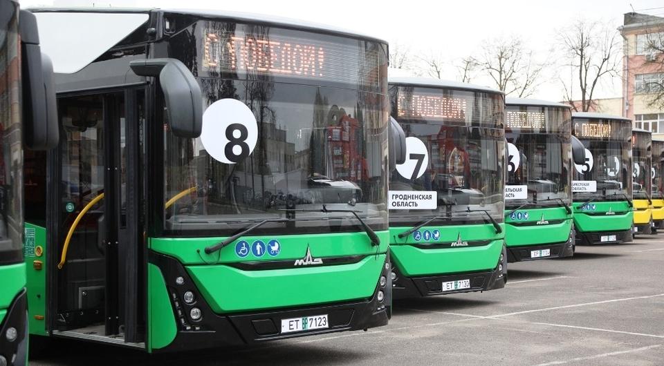 МАЗ передал заказчикам первые серийные электробусы
