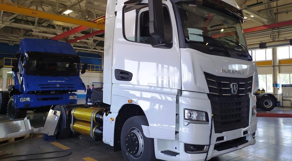 Газодизельный КАМАЗ-54901 готовят к продажам