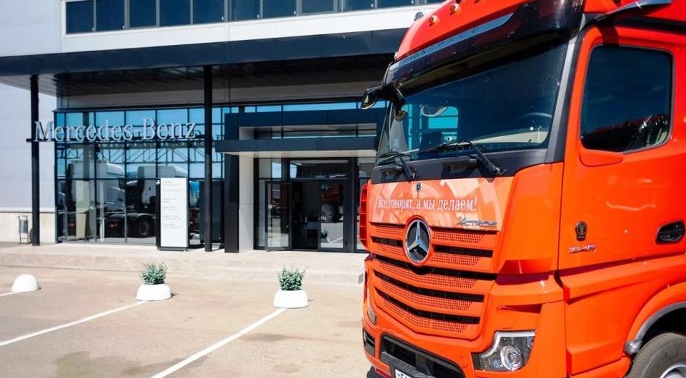 Новый грузовой сервис Mercedes-Benz в Санкт-Петербурге