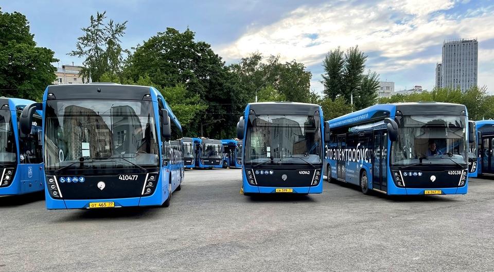 Сделано в Москве: электробусы для столицы
