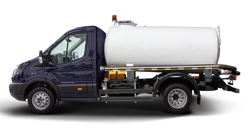 Ford Transit как автоцистерна для пищевых жидкостей