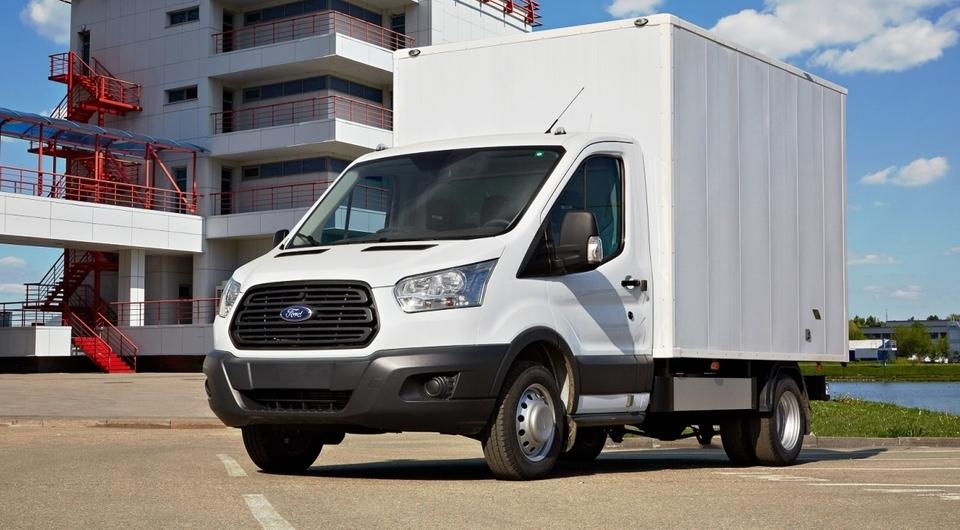 Ford Transit растет стремительно