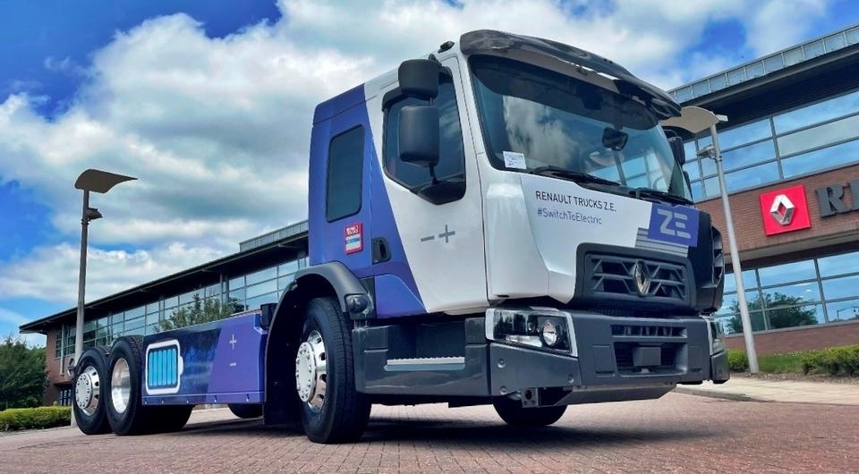 Renault Trucks D Wide Z.E. LEC. Электрический коммунальщик