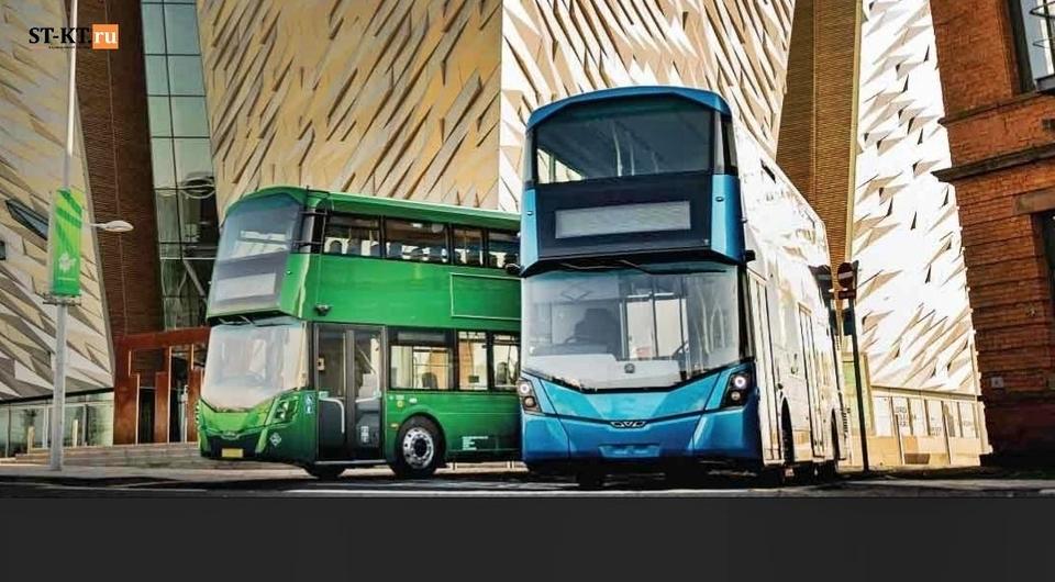 Водородные автобусы Wrightbus. Проект идет в рост