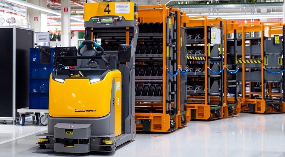 Jungheinrich автоматизировал логистику завода Audi