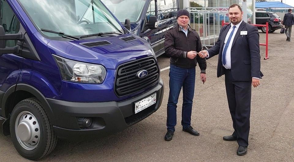 Первый Ford Transit продан по подписке