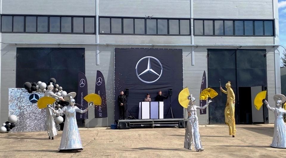 В Чите открыт фирменный сервис грузовиков Mercedes-Benz
