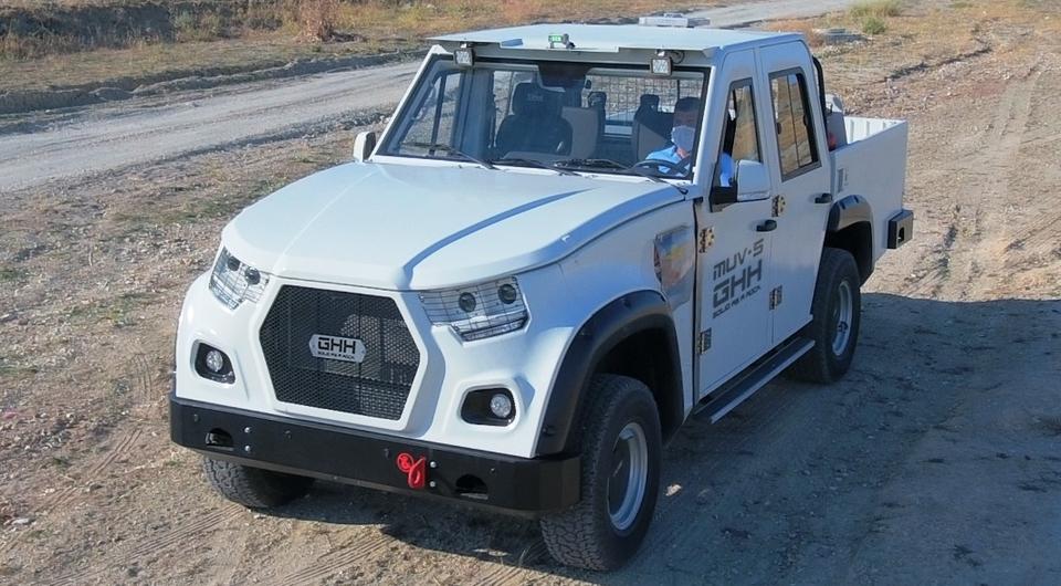 Первый шахтный внедорожник MUV5 4х4 прибыл в Россию