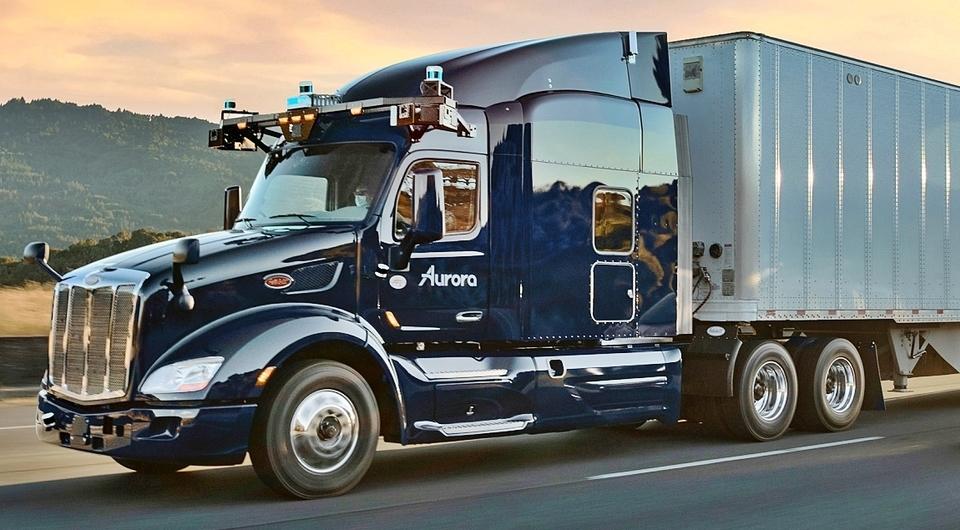 Автономный грузовик PACCAR приступает к работе