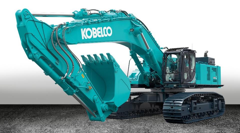 Самый тяжелый Kobelco в Европе