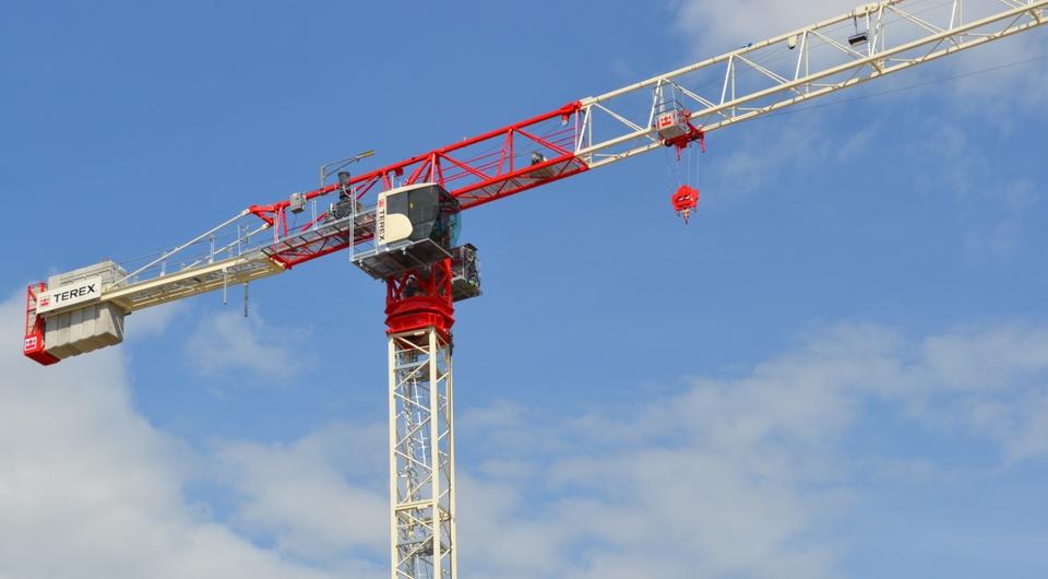 Terex Cranes: 10-тонный башенный кран