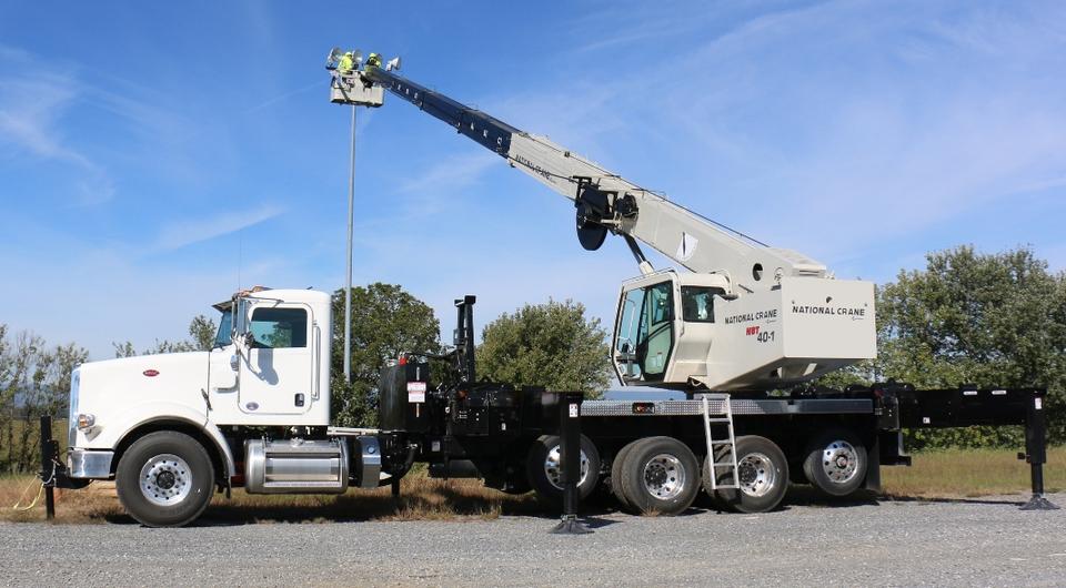 National Crane: новый подъемник Rapid Attach