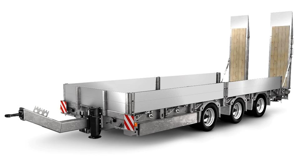 Humbaur HBTZ Tridem. Строительный транспортер-универсал
