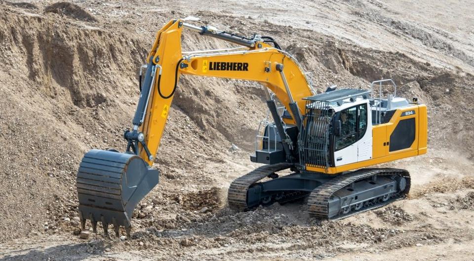 Liebherr R 934: новый 35-тонный экскаватор