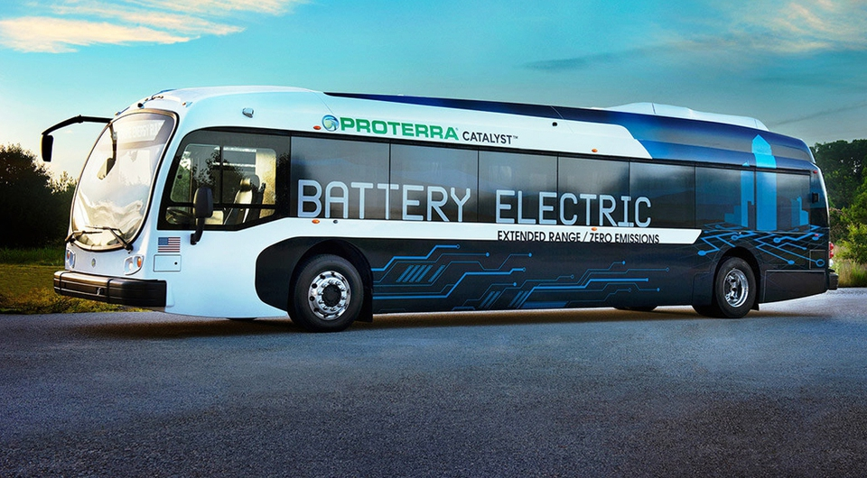 Proterra Catalyst E2. Электробус-рекордсмен