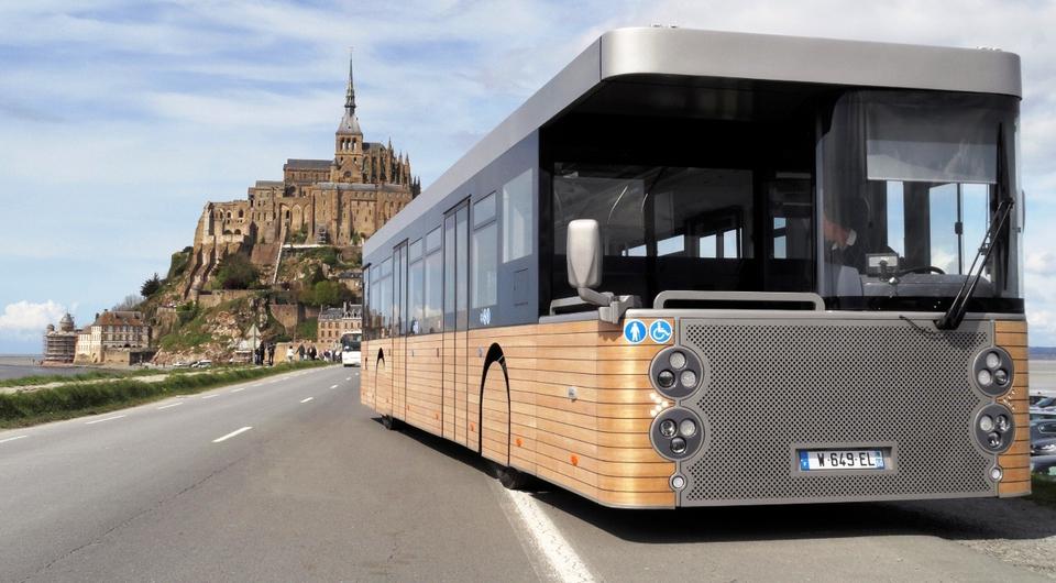 Cobus DES. Тянитолкай в автобусном варианте