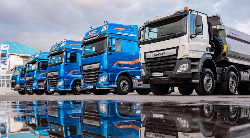 DAF Trucks в России. Первый юбилей