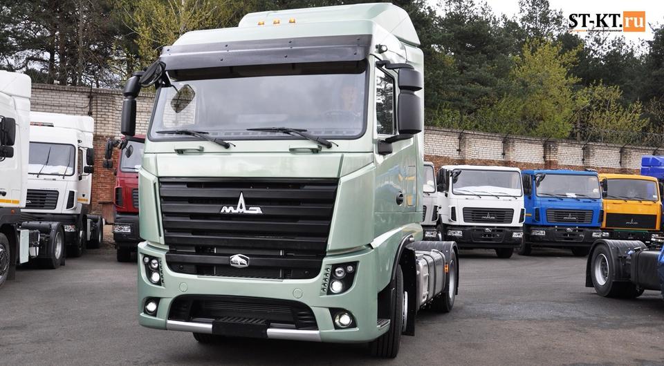 МАЗ-5440М9: новый магистральник запущен в серию!