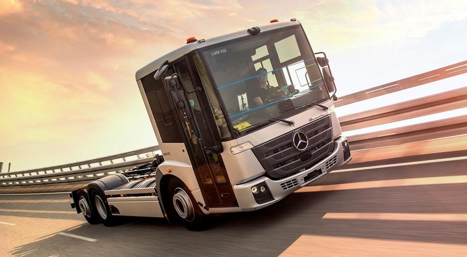Mercedes-Benz Econic. Время переходить на электротягу