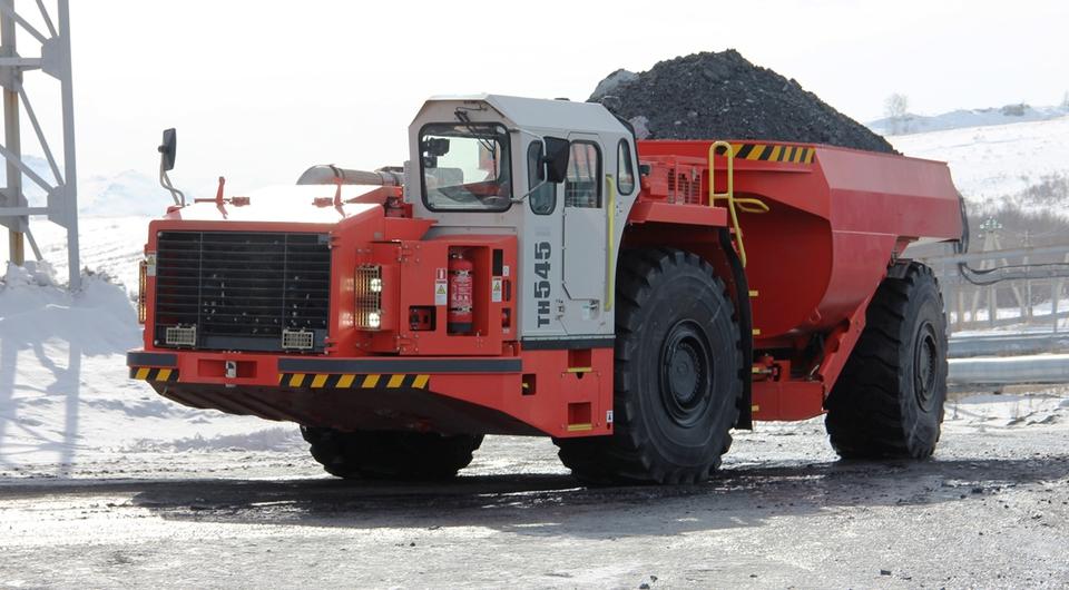 Первый Sandvik TH545 приступил к работе в России