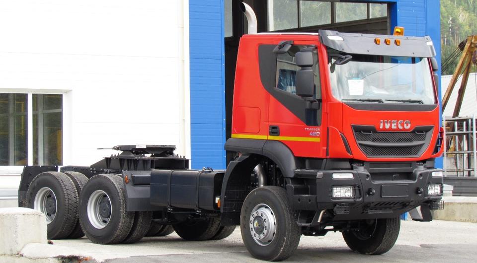 ИВЕКО-АМТ: выпущен восьмитысячный грузовик!