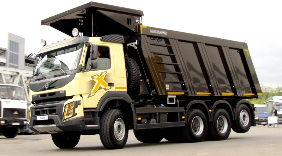 Спецназ на COMTRANS. Карьерная версия Volvo FMX