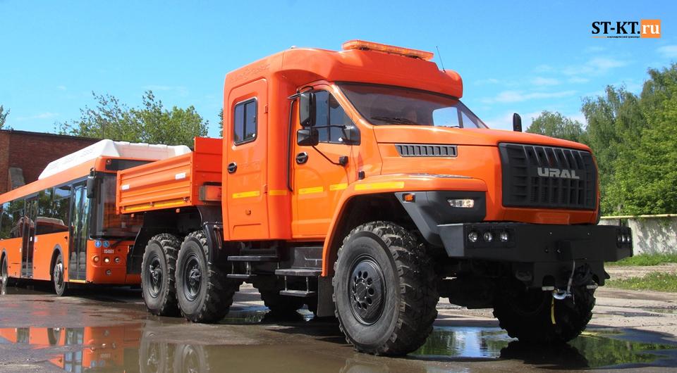 «Чайка-Сервис»: эвакуаторы «Урал NEXT» для «Мострансавто»