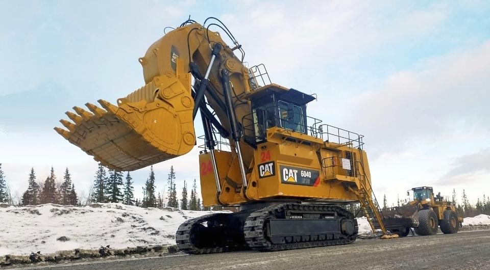 Cat 6040: новый 400-тонный гигант приступил к работе
