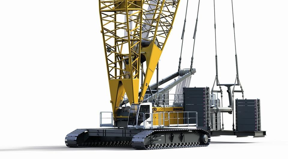 Liebherr LR 1300 SX: 300-тонный кран нового поколения