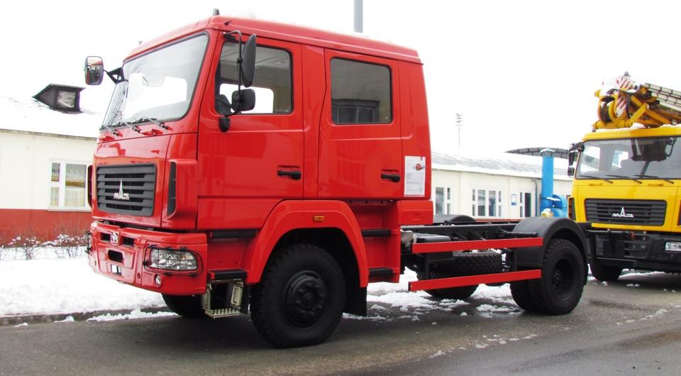 MAZ Auto Poland начнет работу со сборки полноприводников