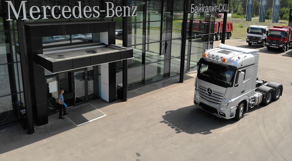 Сверхмощный Mercedes-Benz Actros: российский дебют