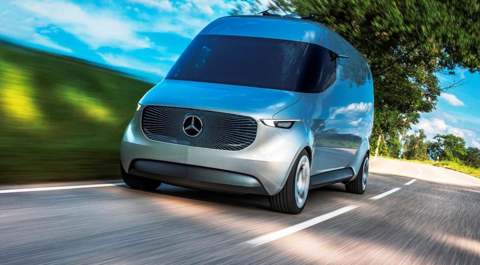 Mercedes-Benz Vision Van. Транспорт цифрового века