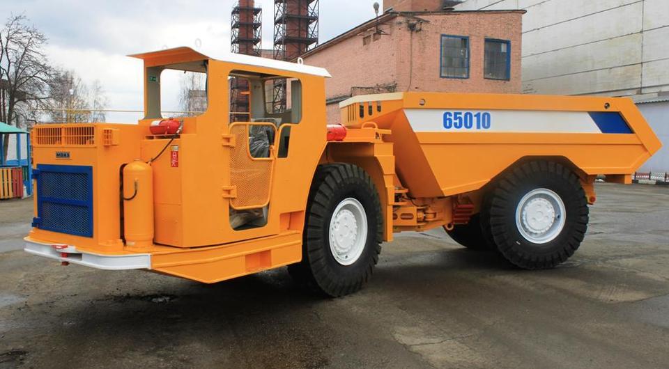 МоАЗ-65010. Новичок в шахтерской бригаде