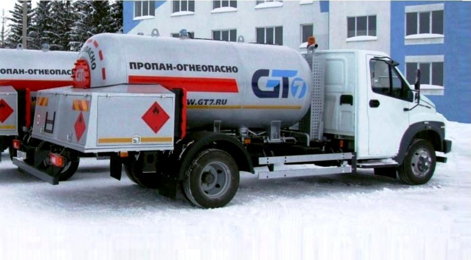 «Газон NEXT» в качестве газовоза