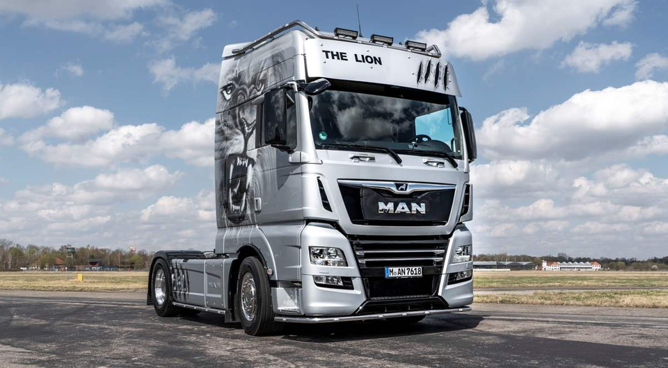 MAN TGX 18.640 The Lion. Царь-грузовик