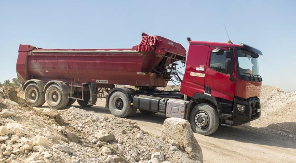 Renault Trucks: системе Optitrack добавлены новые функции