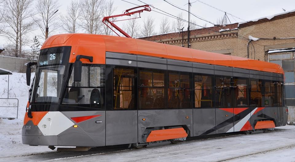 Новый уральский трамвай испытывают в Челябинске