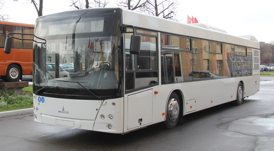 МАЗ-203 продемонстрировали европейским заказчикам