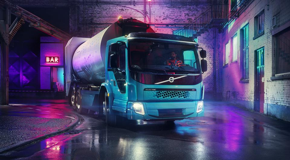 Volvo FE Electric: без шума и дыма