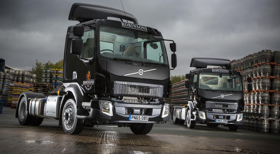 Volvo FL. Оседланный грузовик